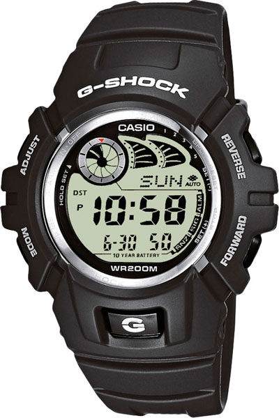 �������������� ����������� ���� � �������� ������� Casio G-SHOCK G-2900F-8V