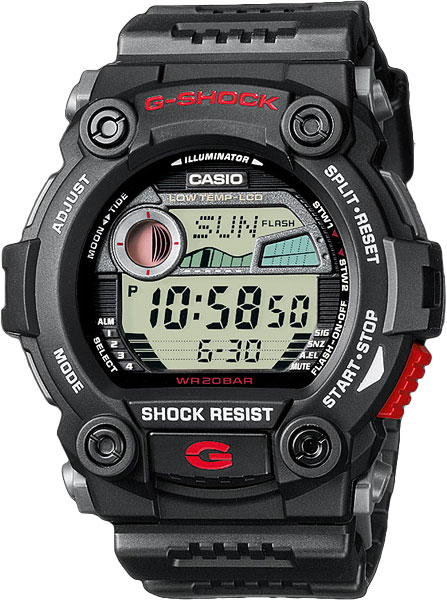 Мужские часы Casio G-7900-1E casio prw 3500 1e