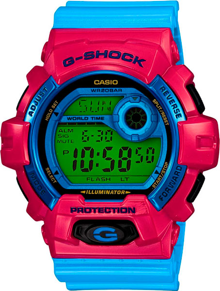 Мужские часы Casio G-8900SC-4E abnormal psychology 4e