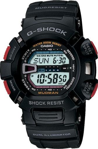 Мужские часы Casio G-9000-1V casio g 9000 1v черный