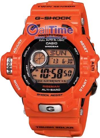 Мужские наручные часы Casio Касио G-SHOCK купить в