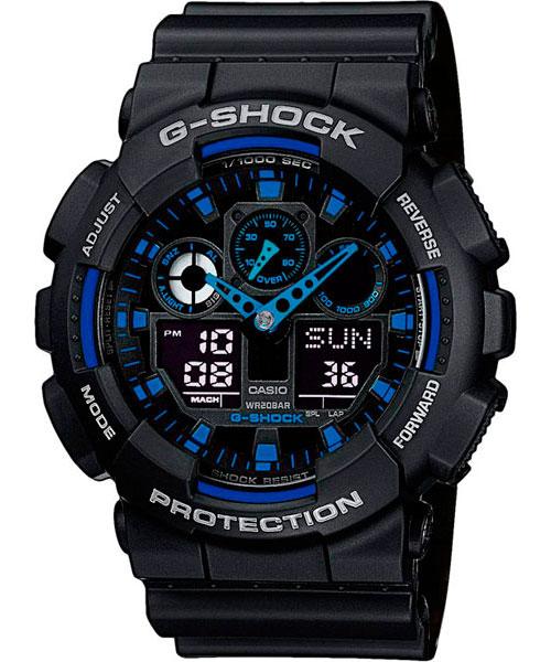 Мужские часы Casio GA-100-1A2 все цены