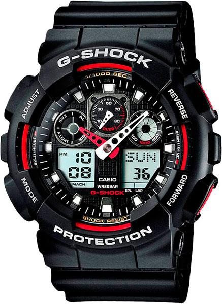 цена Мужские часы Casio GA-100-1A4 онлайн в 2017 году