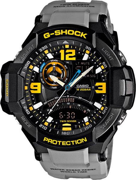 Мужские часы Casio GA-1000-8A casio g shock g classic ga 110mb 1a