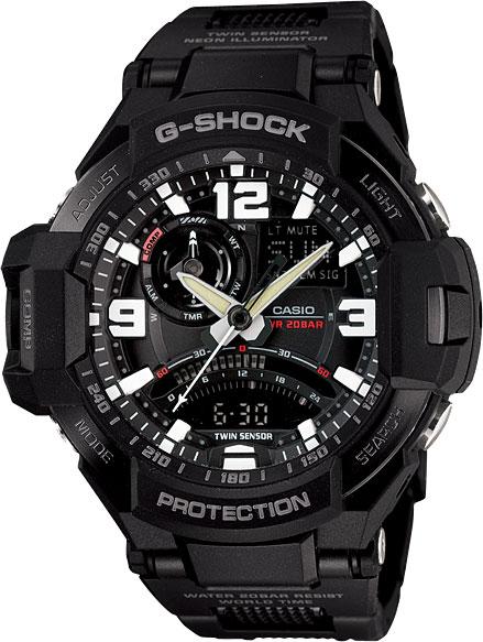 Мужские часы Casio GA-1000FC-1A casio g shock g classic ga 110mb 1a