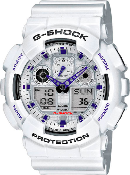 Мужские часы Casio GA-100A-7A цены