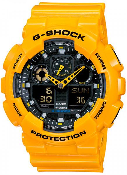 Мужские часы Casio GA-100A-9A casio ga 100a 9a