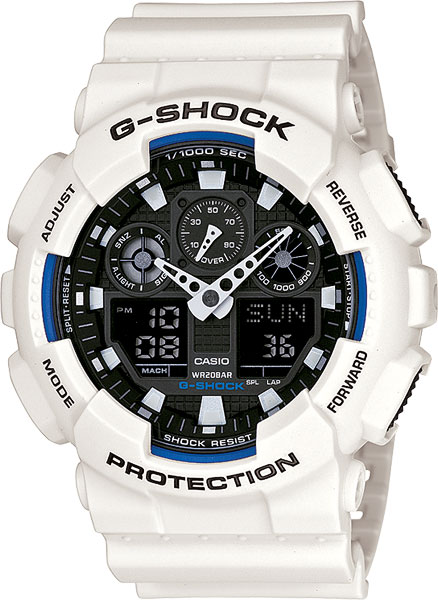 ������������������� ������� ���� � ����������� ����� Casio G-SHOCK GA-100B-7A