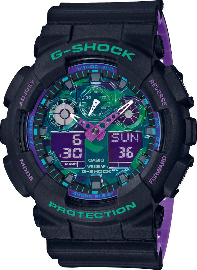 Мужские часы Casio GA-100BL-1AER