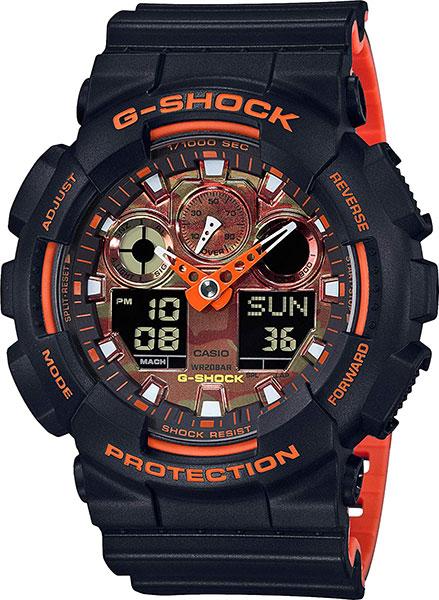 лучшая цена Мужские часы Casio GA-100BR-1A