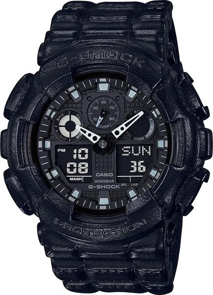 Мужские часы Casio GA-100BT-1A цена и фото