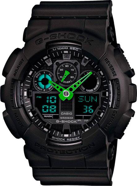 Мужские часы Casio GA-100C-1A3 все цены