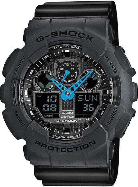 Мужские часы Casio GA-100C-8A часы casio ga 100c 8a