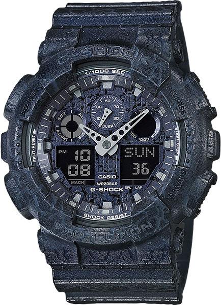 купить Мужские часы Casio GA-100CG-2A онлайн