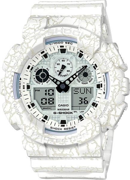 Мужские часы Casio GA-100CG-7A casio ga 201tr 7a