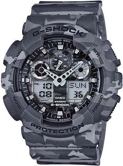 цена на Мужские часы Casio GA-100CM-8A