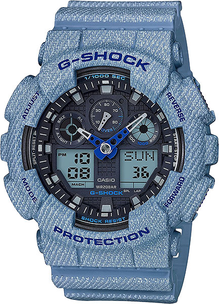 Мужские часы Casio GA-100DE-2A