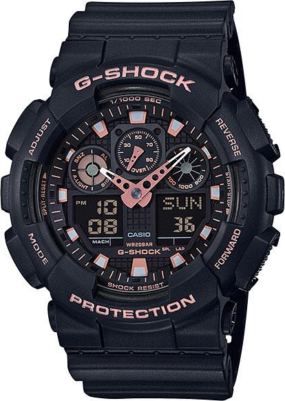 Мужские часы Casio GA-100GBX-1A4 casio ga 100 1a4