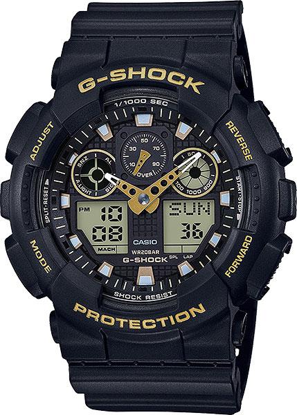 Мужские часы Casio GA-100GBX-1A9 цена