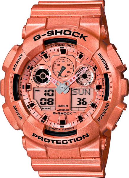 Мужские часы Casio GA-100GD-9A casio ga 100gd 9a casio