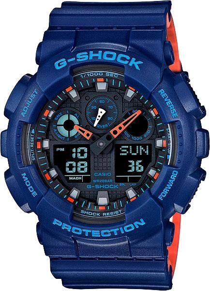 цена Мужские часы Casio GA-100L-2A