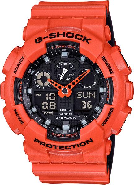 купить Мужские часы Casio GA-100L-4A по цене 8790 рублей