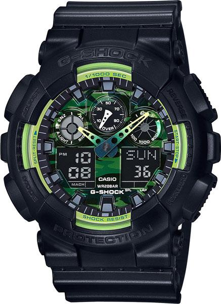 Мужские часы Casio GA-100LY-1A casio ga 110rg 1a