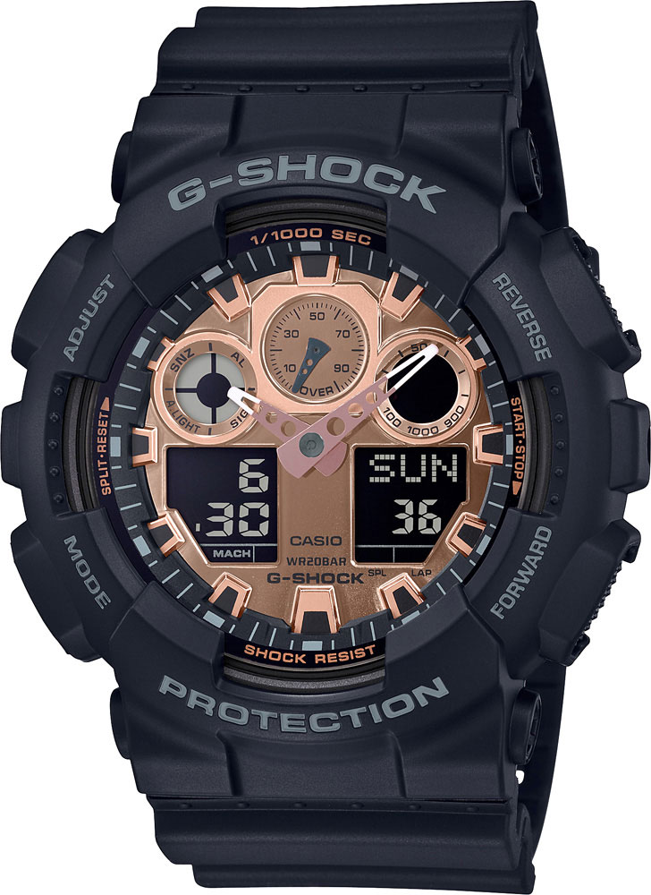 Мужские часы Casio GA-100MMC-1AER кошелек reconds reconds mp002xu02f9z