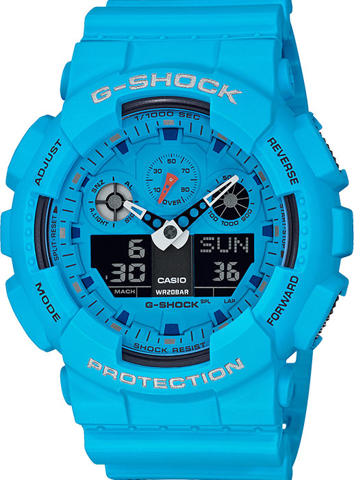 Мужские часы Casio GA-100RS-2AER