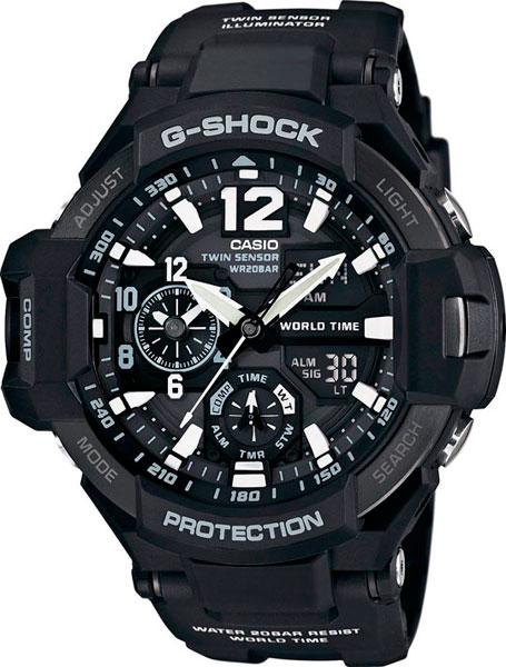 Мужские часы Casio GA-1100-1A все цены