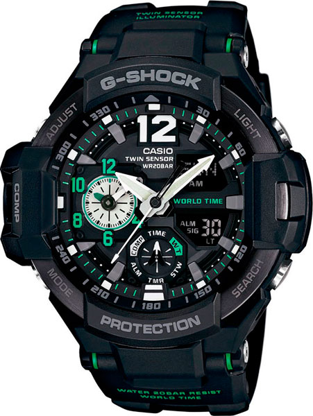 Мужские часы Casio GA-1100-1A3 casio ga 1100 1a3