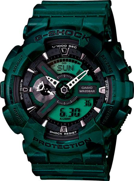 купить Мужские часы Casio GA-110CM-3A онлайн