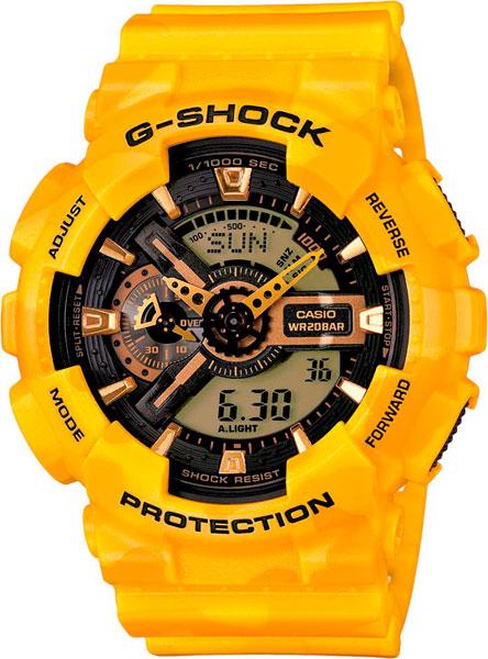 Мужские часы Casio GA-110CM-9A цена и фото
