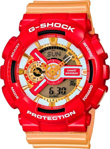 Мужские часы Casio GA-110CS-4A
