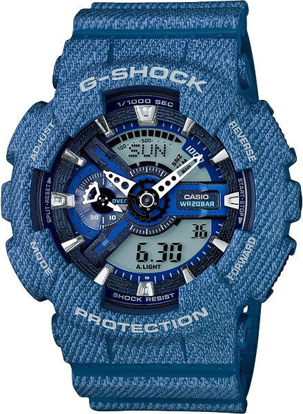 Мужские часы Casio GA-110DC-2A casio ga 110dc 2a