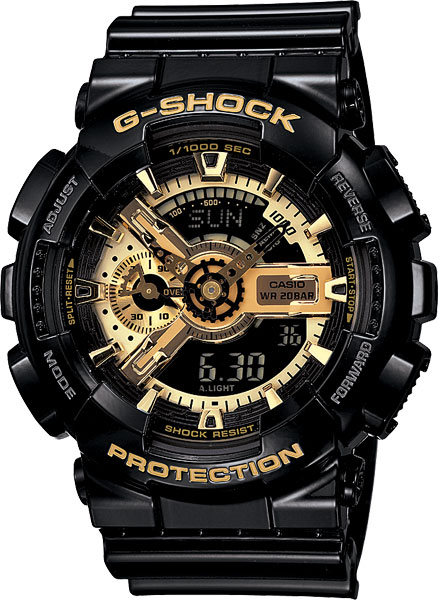 ������������ ������� ���� c LED-���������� Casio G-SHOCK GA-110GB-1A