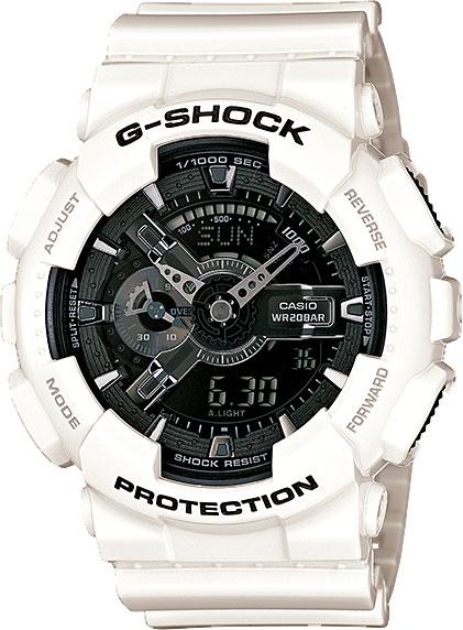 Мужские часы Casio GA-110GW-7A casio g shock g classic ga 110mb 1a