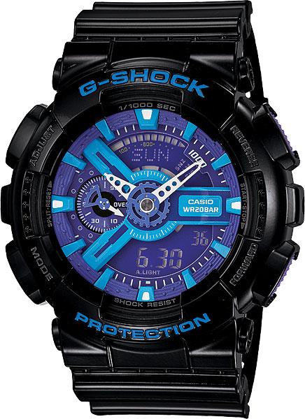 Мужские часы Casio GA-110HC-1A casio g shock g classic ga 110mb 1a
