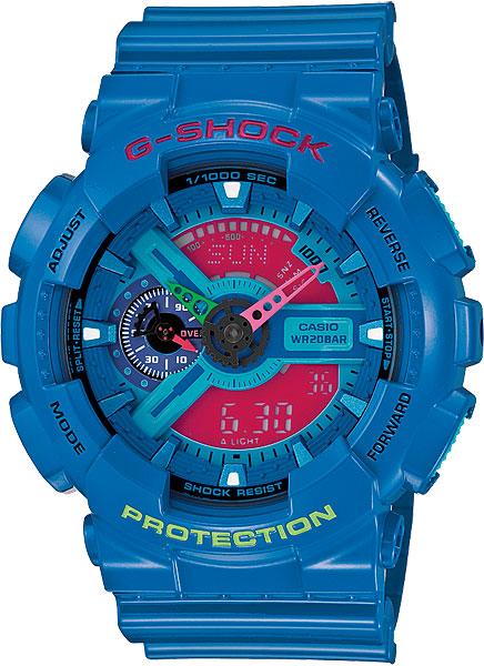 Мужские часы Casio GA-110HC-2A casio ga 110hc 2a