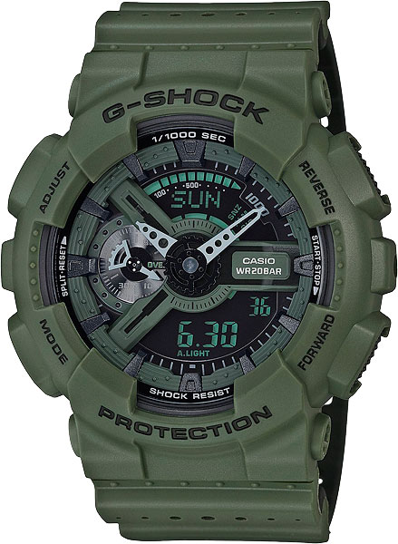 Мужские часы Casio GA-110LP-3A casio g shock punching pattern ga 110lp 1a