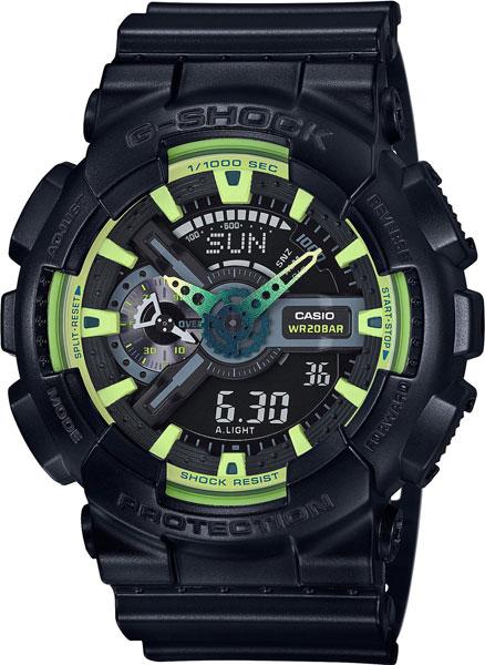 Мужские часы Casio GA-110LY-1A casio g shock g classic ga 110mb 1a