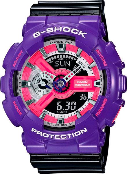 где купить Мужские часы Casio GA-110NC-6A дешево