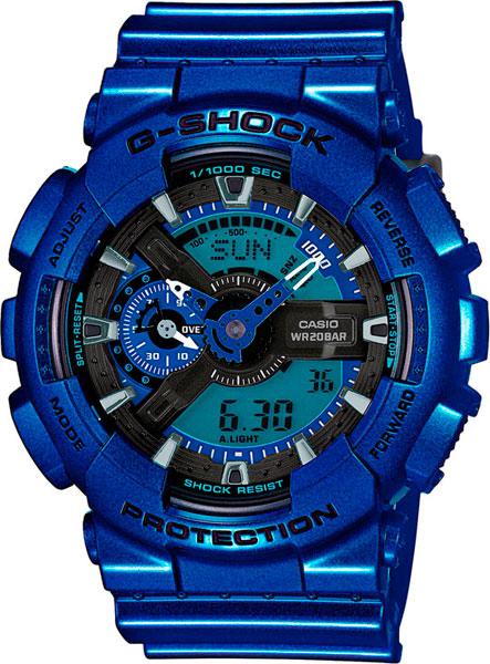 Мужские часы Casio GA-110NM-2A часы casio ga 110nm 2a