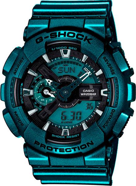 Мужские часы Casio GA-110NM-3A casio часы g shock ga 110nm 3a