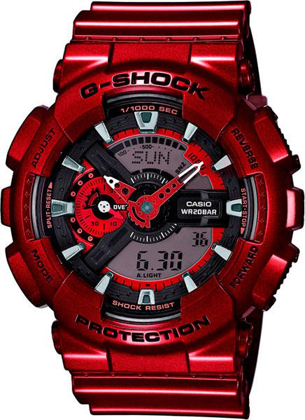 Мужские часы Casio GA-110NM-4A casio ga 110nm 3a