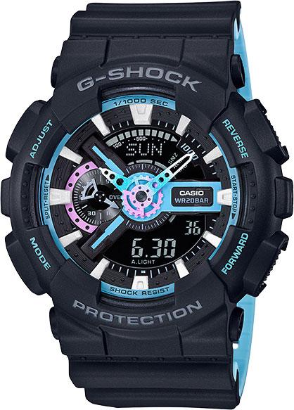 Мужские часы Casio GA-110PC-1A casio ga 110rg 1a