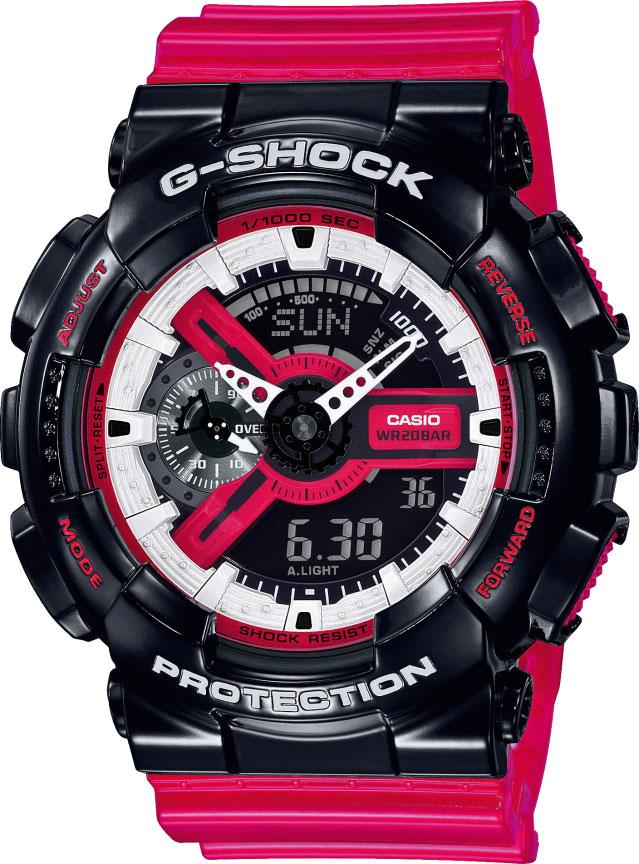 Мужские часы Casio GA-110RB-1AER