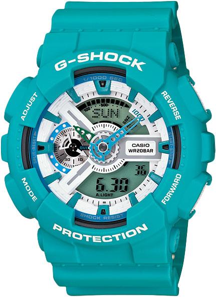 Мужские часы Casio GA-110SN-3A casio g shock g classic ga 110mb 1a