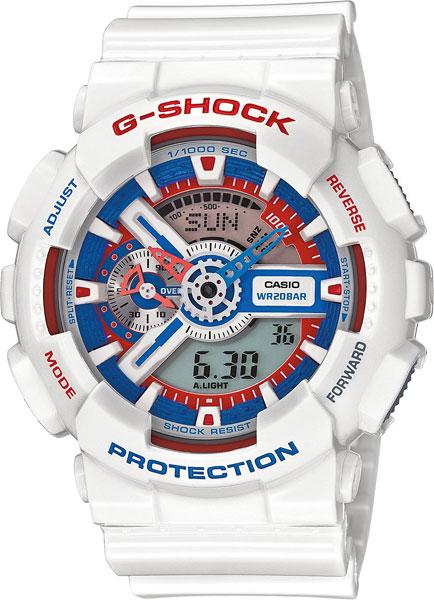 Мужские часы Casio GA-110TR-7A casio g shock g classic ga 110mb 1a