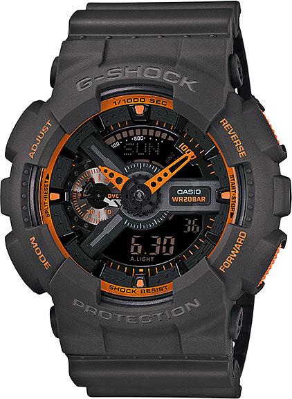 Мужские часы Casio GA-110TS-1A4 casio g shock g classic ga 110mb 1a